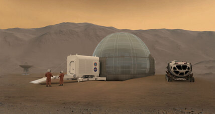 NASA plan for housing astronauts on Mars borrows from Eskimos