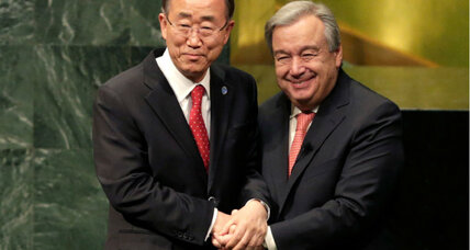 New UN chief calls for peace: What challenges will he face?