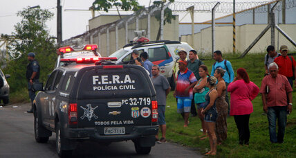 Brazil prison riot: At least 56 inmates killed in gang battle