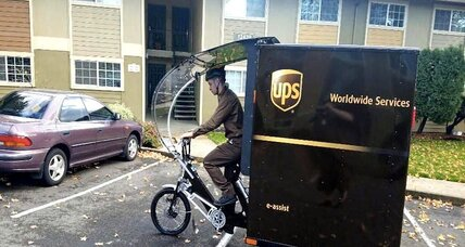 UPS tests electric bikes for deliveries in Portland, Ore.
