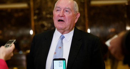 Sonny Perdue: Will Republicans accept a former Democrat as ag secretary? (+video)