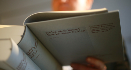 Germany's surprise bestseller: a critical edition of 'Mein Kampf'