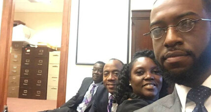 Why the NAACP president staged a sit-in at Jeff Sessions's office
