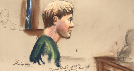 Church gunman insists to jury that he is not mentally ill