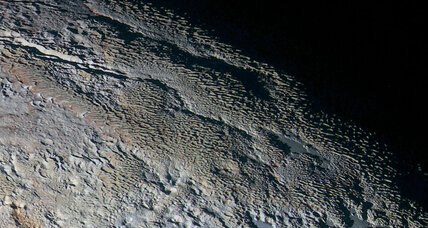 The secret of Pluto's ridges? Ice blades.