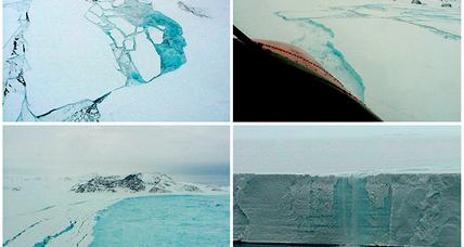 Antarctica rift: Larson C ice shelf close to becoming huge iceberg
