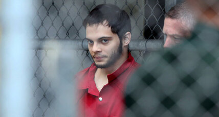 Airport shooting suspect gets public defender in court