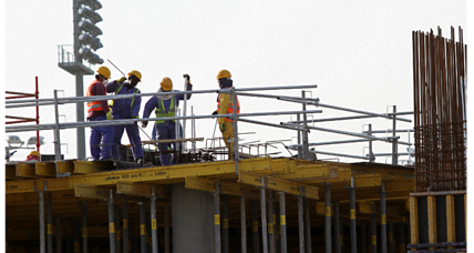 In Qatar, World Cup construction workers to get 'cooling' hats