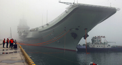 Why did China just send an aircraft carrier through the Taiwan Strait?