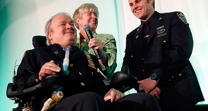 How NY cop Steven McDonald moved from tragedy to a lifelong mission for peace