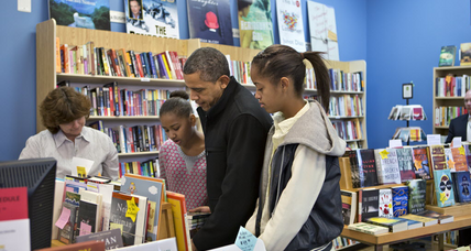 Are Obama's happiest reading days just ahead?