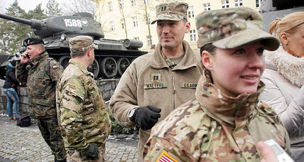 US troops arrive in Poland, boosting NATO defense in Eastern Europe