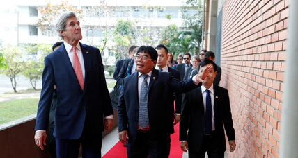 Kerry defends TPP on his final trip as Obama's top US diplomat