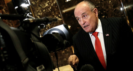 How Rudy Giuliani will advise Trump on cybersecurity