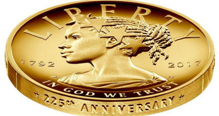 Why an African-American Lady Liberty graces US Mint's newest coin