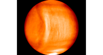 What's causing that massive wave in the atmosphere of Venus?