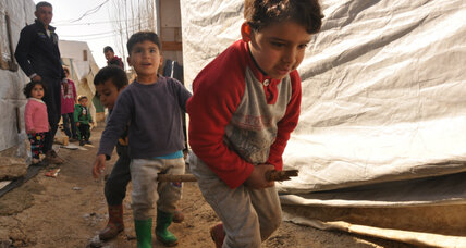 As peace talks loom, Syrian refugees see little future in going home