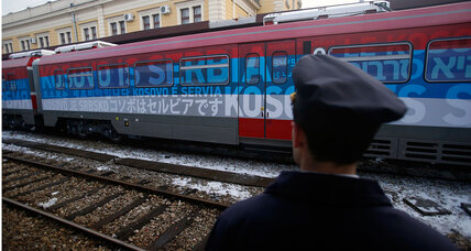 Kosovo views Serbian rail link as 'provocation,' blocks train