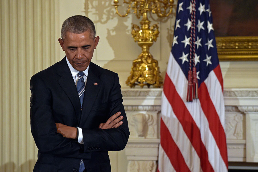 """five faces of barack obama President barack obama, in a policy of """"strategic patience,"""" refused to engage  his  china, which has broad influence over north korea, faces domestic  after  conducting five weapons tests, the most recent in september,."""