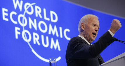 In last major speech, Vice President Biden warns against Russia