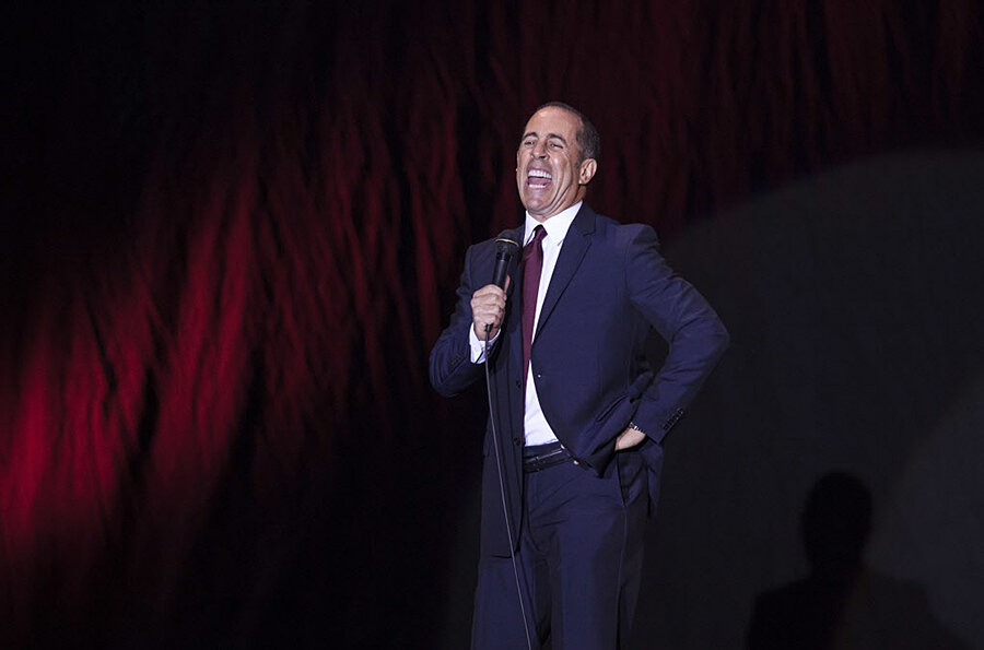 How do Netflix and Jerry Seinfeld plan to change comedy? With cars and coffee, duh