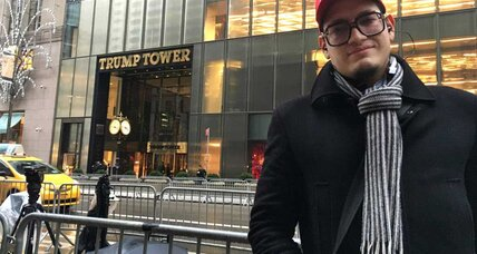 For some, Trump Tower has become a place of pilgrimage