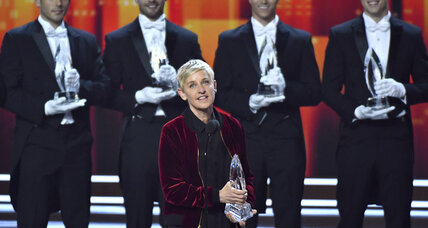 Ellen DeGeneres popularity demonstrated with a record number of People's Choice Awards