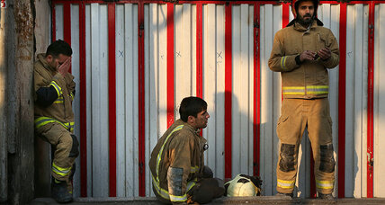 As rescue efforts continue, Rouhani calls for investigation of Tehran high-rise fire