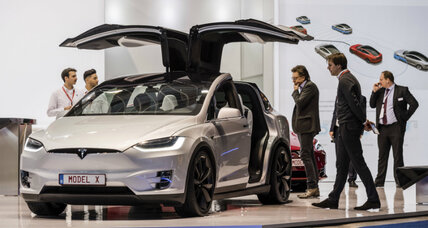 Why a German minister's new Tesla is raising eyebrows