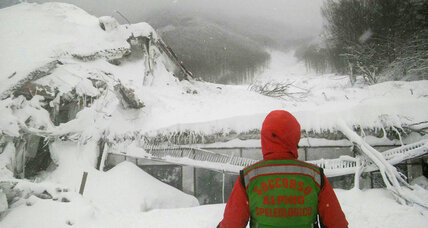 Italian crews work overnight after avalanche hits hotel