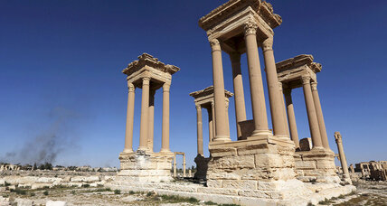 Recaptured by ISIS, ancient Palmyra loses two more monuments to antiquities destruction