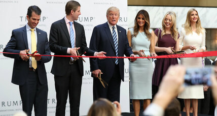 Are Trump family members doing enough to separate from their businesses?