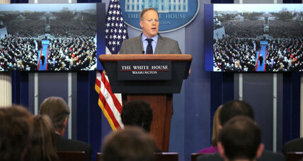 What Sean Spicer's first news conference tells us about White House press relations under Trump