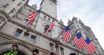 Festivities at D.C. Trump hotel shine spotlight on ethics concerns
