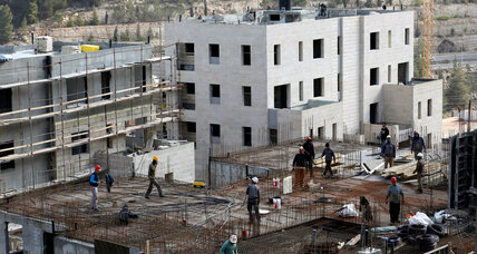 Israel pushes ahead with settlements as Trump takes office