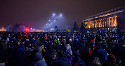 Protests erupt in Romania over proposals to soften criminal penalties