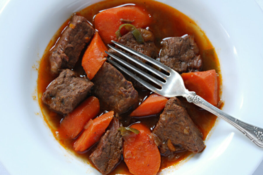 Vietnamese beef stew blends flavors of multiple spices and cultures