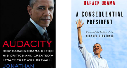 3 new Obama biographies by unabashed supporters