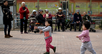 China birthrate gets a bump as one-child policy eases up
