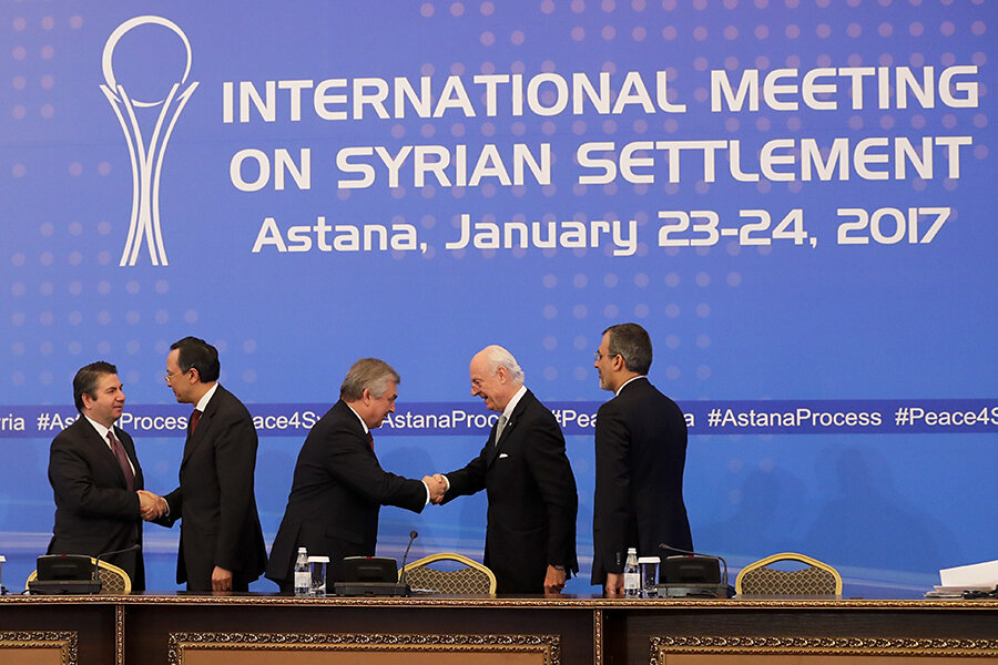 Resultado de imagem para international meeting on syrian settlement may
