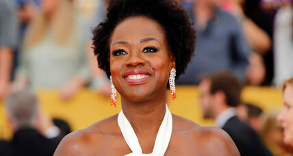 In more diverse Oscars year, African-American actress Viola Davis sets record