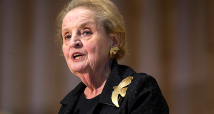 Why Madeleine Albright says she is 'ready to register as Muslim'