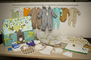 The baby box program is inspired by a famous nationwide program in Finland which has been distributing the cardboard package for nearly 80 years. & Why is New Jersey giving new parents free baby boxes? - CSMonitor.com Aboutintivar.Com