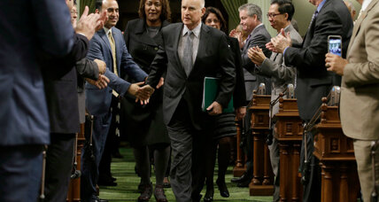 Why California's governor may emerge as top defender of liberal values