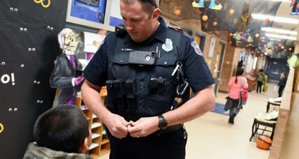 What happens when schools get their own police officers?