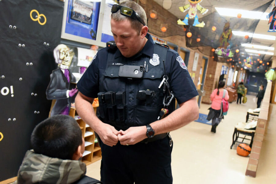 what happens when schools get their own police officers
