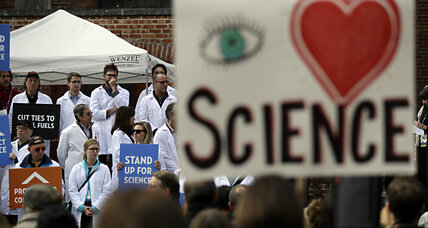 Scientists drawn into politics, in a bid to defend science