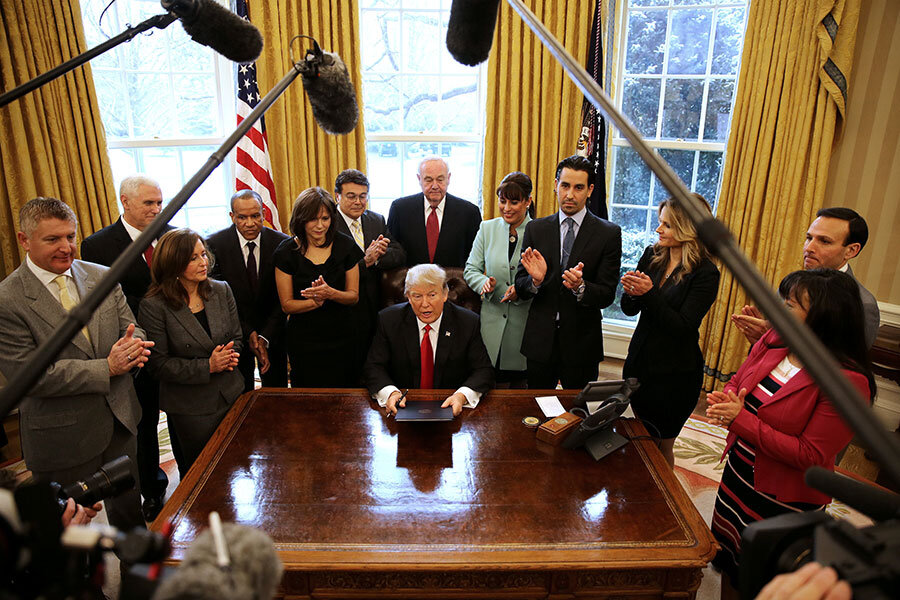 Trump's executive orders: Dramatic but fatally flawed?