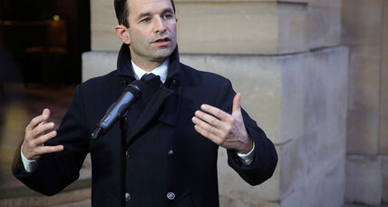 French Socialists decisively pick leftist Benoît Hamon in presidential race