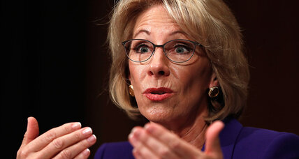 Did Betsy DeVos plagiarize some answers in her Senate questionnaire?